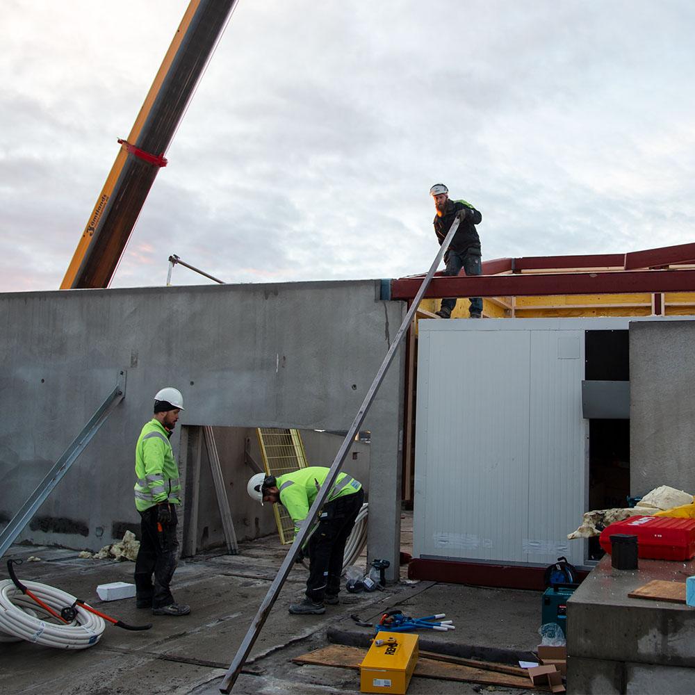 Vi utgår från vår verkstad i Östersund men utför jobb över hela Sverige